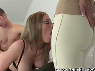 stockings british sweetheart gets fucked