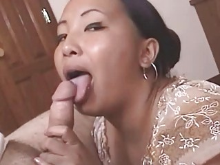 wicked mature oriental receives cumfaced after