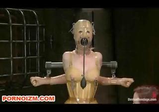 bdsm lesdom latex serf doll punishments