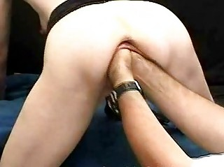 outlandish mature babe fisting and biggest bottles