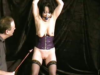 crying aged slavegirl chinas ballgagged electro