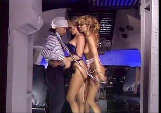 arab meet two hot stewardess and fuck both of