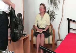 mature woman seduces her son in law part9