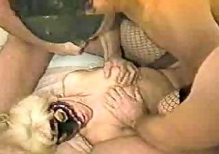older slut meets young cocks