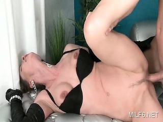 hardcore sex with seductive mother i in underware