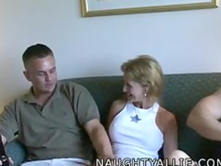 allie loans jake to a ally male three-some