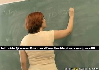 sinless redhead schoolgirl in her class