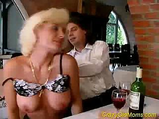eager old mommy receives fucked hard