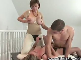 mature femdom fetish fuck threesome