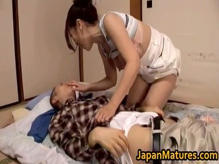 great looking japanese older engulfing