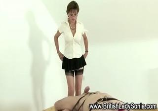 aged femdom bondage oral-sex