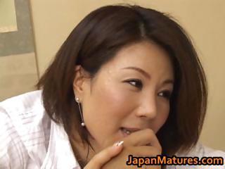 lascivious japanese mature honeys sucking part3